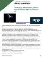 Diálogo Estratégico _ de Terapia Breve Estratégica. Role Playing