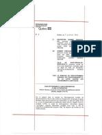 Document d'assujetissement, selon la Loi sur la conservation du patrimoine naturel