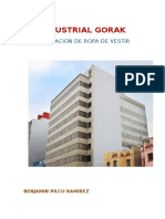 Reseña Histórica de La Empresa Gorak