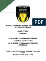 Obesiti Case Study Sekolah