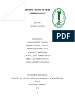 Concepto y División de Bienes
