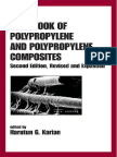 Handbook of Polypropylene and Polypropylene Composites, Revised and Expanded (Plastics Engineering)(2003)