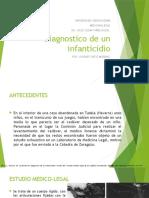 Diagnostico de Un Infanticidio