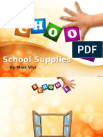 School Supplies Scribd