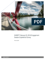 SWBRT Feb 23 2016 Engagement Session Experience Survey