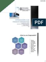 1 Introducción a Las Finanzas Corporativas