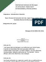 Proceso de Formacion de La Ley