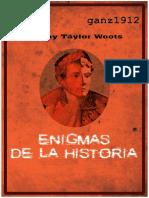 Jeremy Taylor Enigmas de La Historia
