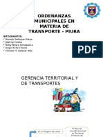 Diapo de Transporte Ordenanzas