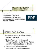 The Roman Period in British History