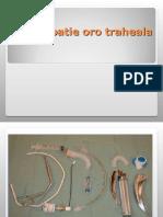 Intubatie Oro Traheala