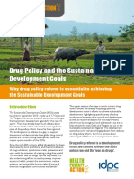 IDPC - Drug Policy and the Sustainable Development