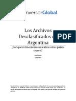 Los Archivos desclasificados de argentina