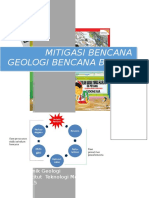 Tugas Mitigasi Bencana Geologi Banjir