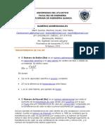 Numero Adimensionales