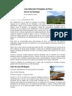 Areas Naturales Protegidas de Piura