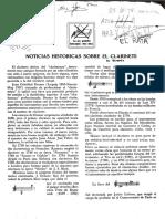 Metodo Para Clarinete (Español)