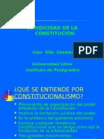 Juridicidad de La Constitución y Control Constitucionalidad