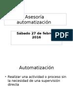 Asesoría automatización