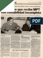 La Industria 01-01-07 Acuña dice que recibe MPT con contabilidad incompleta