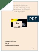 Electromecánica y Refrigeración (temperatura)