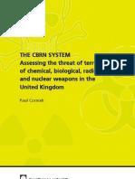 Assesing Cbrn Threat in UK