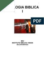 Teologia Biblica i