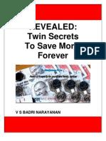 Twin Secrets for Super Savings