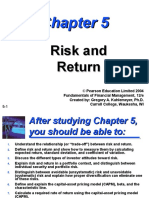 Risk and Returne