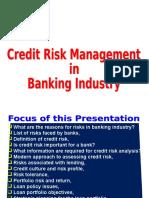 Credit Risk Management Lecture