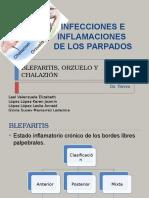 Blefaritis, Orzuelo y Chalazión