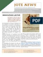Quijote News 23 abril Conmemoración