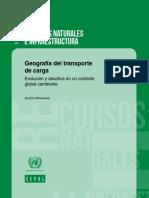 Geografía Del Transporte de Carga