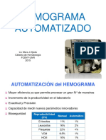AUTOMATIZACION HEMATOLOGIA