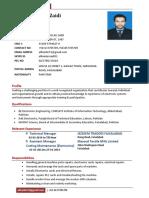 Syed Ali Haider Zaidi CV -1