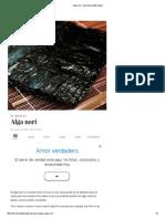 Alga Nori - Barcelona Alternativa