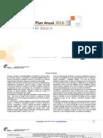 Planificacion Anual Lengua y Literatura 8 Basico 2016
