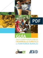 Guia Para La Formulacion de Planes de Desarrollo Turistico en Zona Rural