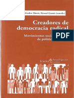 Creadores de Democracia Radical Movimien