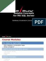 Delphix Concepts SQL Server Updated