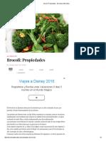 Brocoli_ Propiedades - Barcelona Alternativa