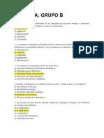 2° EXAMEN DE RANKING BIOLOGIA Y MEDIO AMBIENTE