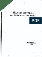 Memoria BCRP 1975