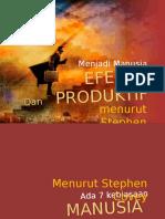 Menjadi Manusia Efektif Dan Produktif.pptx
