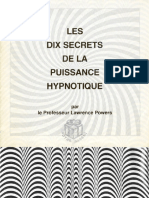 Powers Lawrence - Les 10 Secrets de La Puissance Hypnotique