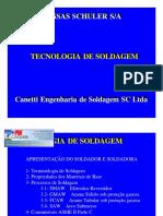 Tecnologia de Soldagem - Canetti Engenharia