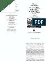 Heidegger_Ciencia y Meditación