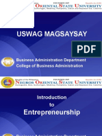 Lecture for Magsaysay