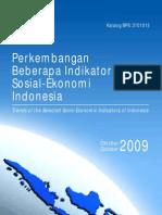 Perkembnagan Indikator Sos-Eko Indo_okt2009