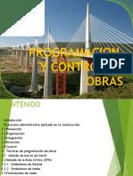 Programacion y Control de Obras